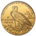 $2.50 Indian Gold Quarter Eagle - MS-62 NGC or PCGS